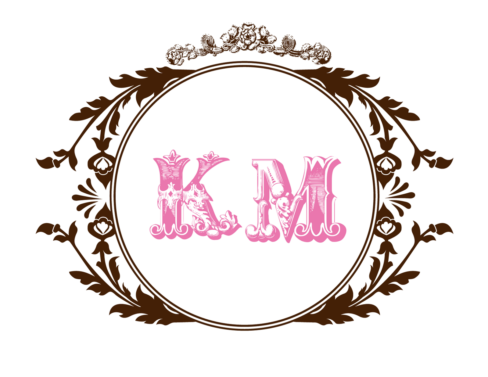 wedding monograms labels certified bride chilla