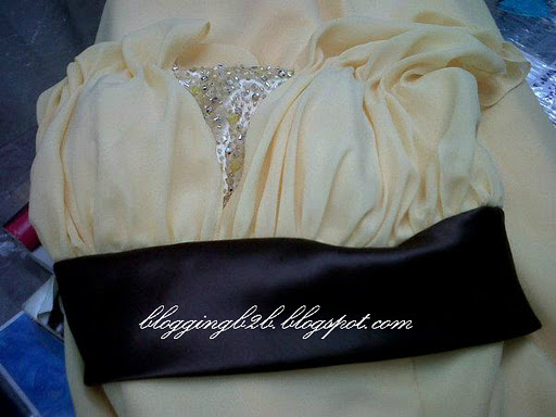 936e9c73318c My Maid of Honor, bridesmaids and Secondary sponsors gown color would be  pink and the lining would be brown ♥